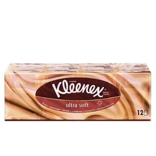 Kleenex Kleenex Zakdoek Ultrasoft - 12 Stuks