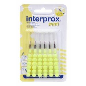 Interprox Interprox Reglar 1300 Mini Geel - 6 Stuks