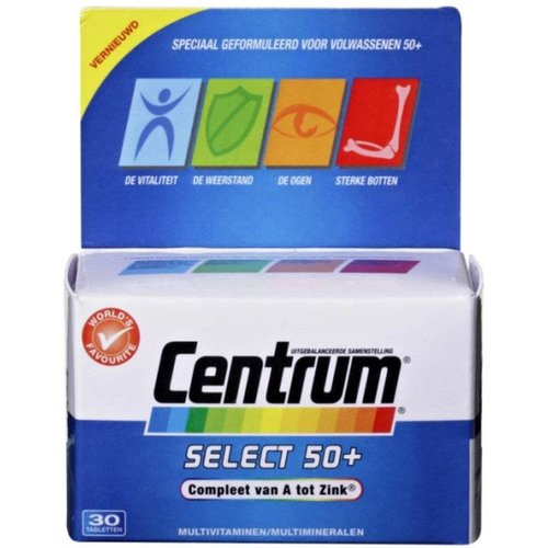Centrum Centrum Select 50+ Advanced - 30 Tabletten