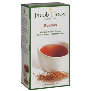 Jacob Hooy Jacob Hooy Thee Rooibos Builtjes - 20 Zakjes