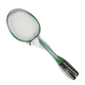 Badmintonracket Badmintonracket & Shuttle In Net1 Stuks