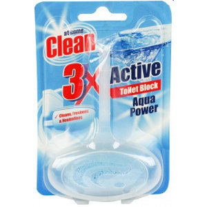 At Home At Home Clean Toiletblok Aqua Power - 40 Gram