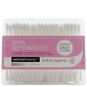 SENCEBEAUTY Sencebeauty Cotton Wattenstaafjes - 200 Stuks