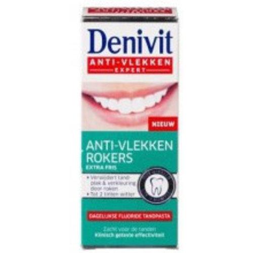 Denivit Denivit Tandpast Anti Vlekken Rokers - 50ml