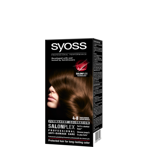 Syoss Syoss colors haarverf chocolade bruin 4-8