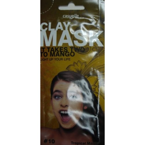Clay Clay Mask Tropical Mango - 18ml