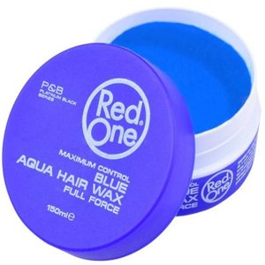 Red one Red One Blauw Haar Wax - 150ml