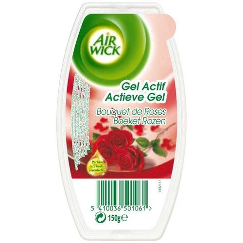 Airwick Airwick Gel Actif Boeket Rozen -150 Gram