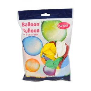 Ballon Ballon 23cm - 50 Stuks