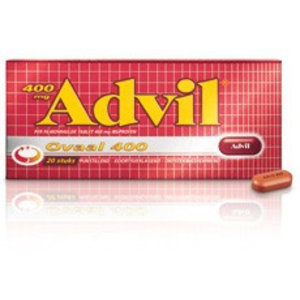 Advil Advil Ovaal 400 Mg - 20 Dragees