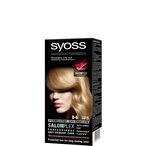 Syoss Syoss colors haarverf lichtblond 8-6