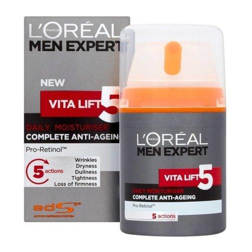 Loreal Men Expert Vita Lift 5 Hydraterende Gezichtscreme - 50 Ml
