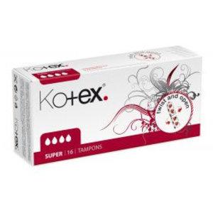 Kotex Kotex Tampon Super - 16 Stuks