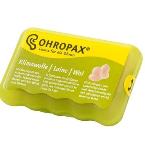 Ohropax Ohropax Klima Wol - 12 Stuks
