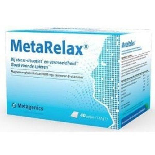 Metagenics Metagenics Metarelax - 40 Zakjes