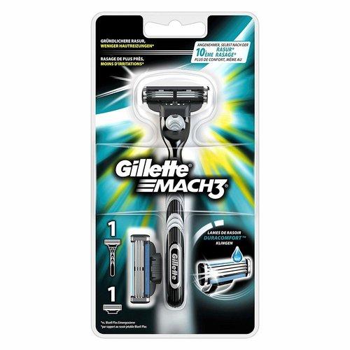 Gillette Gillette Mach3 turbo  Apparaat + 1 Scheermesje - 1 Stuks