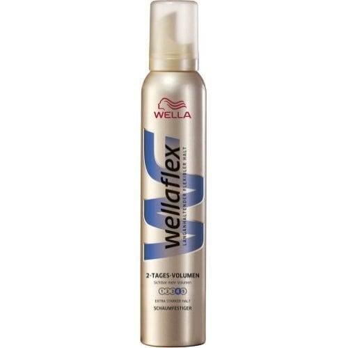 Wella Wella Wellaflex Haarmousse 2nd Day Volume Extra Sterk - 200 Ml