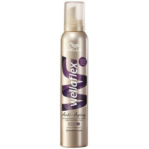 Wella Wella Wellaflex Haarmousse Anti Aging Ultra Sterk - 200 Ml