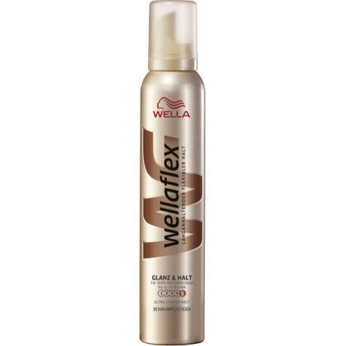 Wella Wella Wellaflex Haarmousse Glans & Hold - 200 Ml