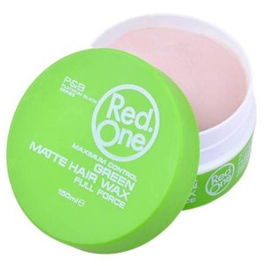 Red one Red One Groen Matte Haar Wax - 150ml