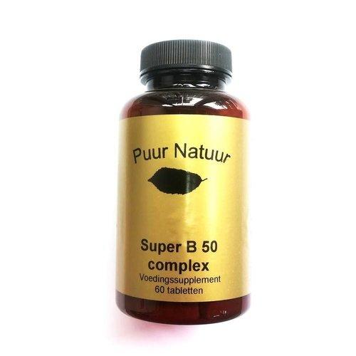 Puur Natuur Puur Natuur B 50 Complex - 60 Tabletten