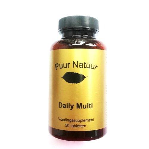 Puur Natuur Puur Natuur Daily Multi - 50 Tabletten