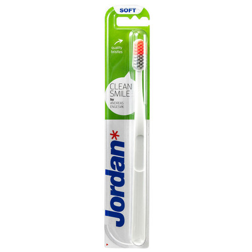 Jorden Jorden Tandenborstel Clean Smile Soft - 1 Stuks
