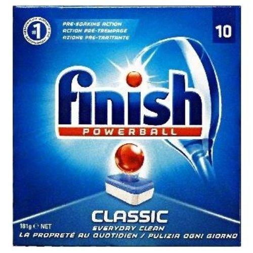 Finish Finish Powerball Classic Vaatwastabletten - 10 Stuks