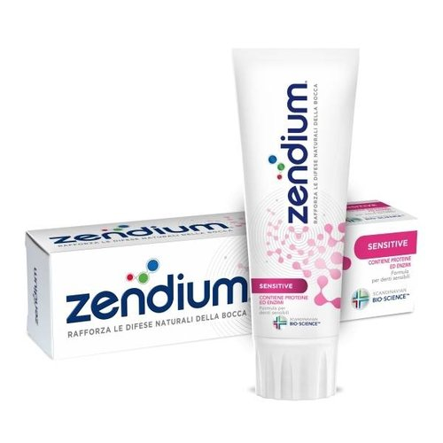 Zendium Zendium Tandpasta Sensitive - 75 Ml UITVERKOCHT!!!!!!