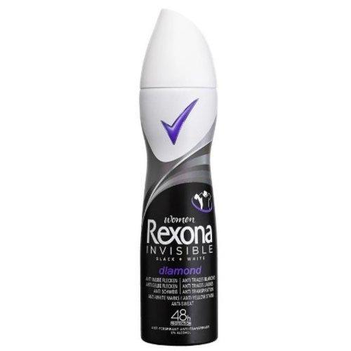 Rexona Rexona Women Deospray Invisible Black & White - 150 Ml