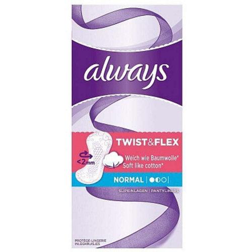 Always Always Inlegkruisjes Twist&Flex Normaal - 20 Stuks