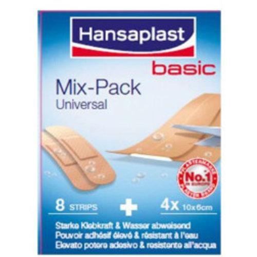 Hansaplast Hansaplast Universel Mix Pack Basic - 12 Stuks