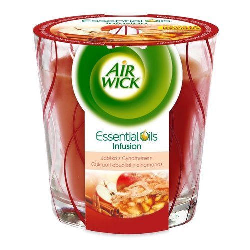 Airwick Airwick Essentail Oils Geurkaars Appeltaart - 105 Gram