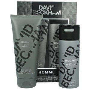 David Beckham David Beckham Homme Deodorant Spray & Showergel - 1 Stuks UITVERKOCHT