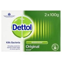 Dettol Soap Original Duo - 2x 100 Gram