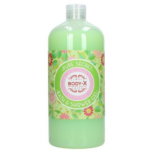 Body-X Body-X Bath & Showergel Pure Secret - 1000 Ml