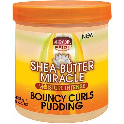 African Pride African Pride Shea Butter Miracle Moisture Intense Bouncy Curls Pudding  425 gram