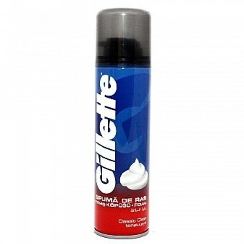Gillette Gillette Scheerschuim Regular - 200 Ml
