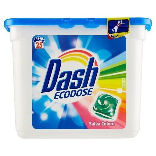 Dash Dash Wasmachinetabs Ecodose Color - 25 Tabs