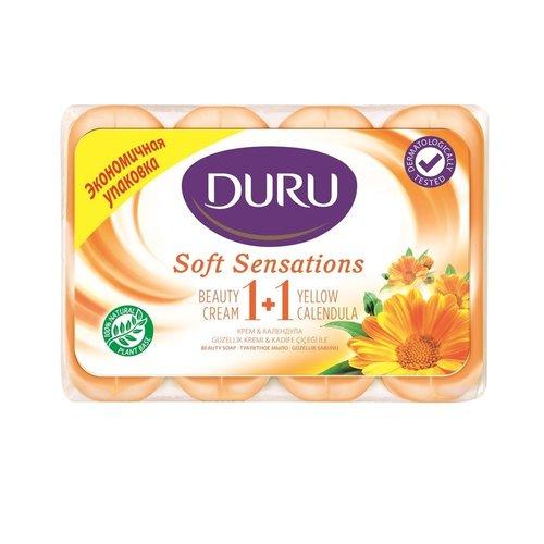 Duru Duru Soft Sensations Zeep Calendula - 4x90 Gram