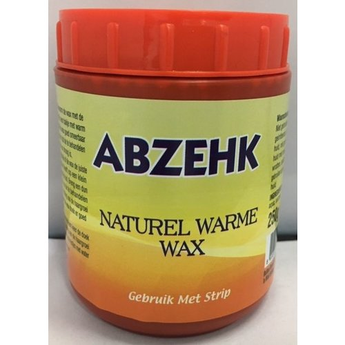 Abzehk Abzehk Naturel Warme Wax - 250 Gram
