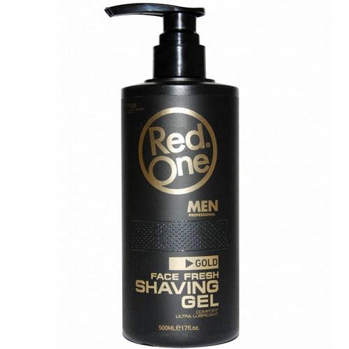 Red one Red One Shaving Gel Gold Pompje 500 ml