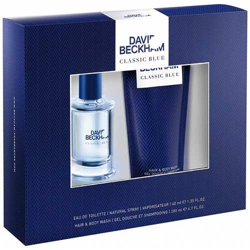 David Beckham David Beckham Blue Edt Spray 40 Ml & Showergel -1 Stuks