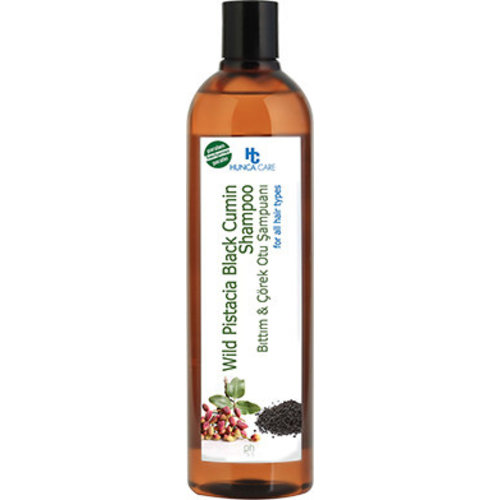 Hunca Hunca Shampoo Pistache & Zwarte Komijnolie - 700 Ml