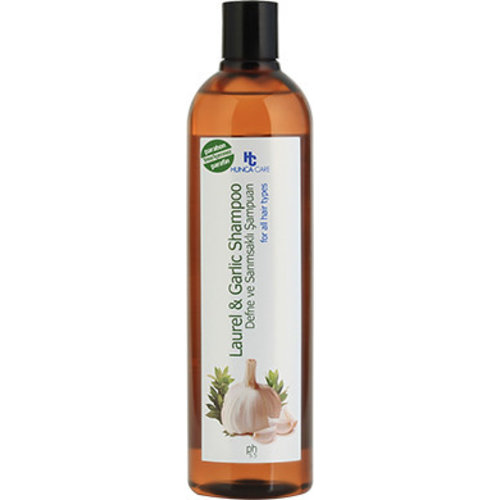 Hunca Hunca Shampoo Knoflook & Laurier - 700 Ml