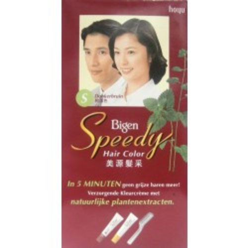 Bigen Bigen Speedy Hair Color Donkerbruin S