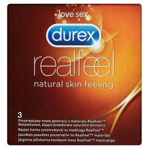 Durex Durex Real Feeling - 3 Stuks