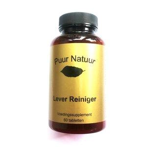 Puur Natuur Puur Natuur Lever Reiniger - 60 Tabletten
