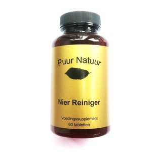 Puur Natuur Puur Natuur Nier Reiniger - 60 Tabletten