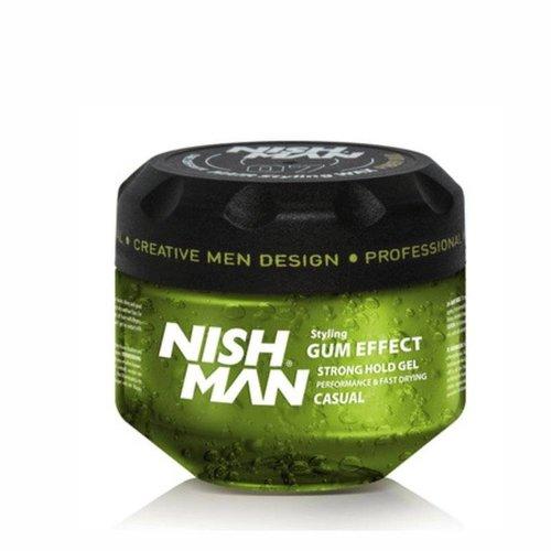 Nishman Nishman G1 Styling Gel Gum Effect Strong - 300 Ml